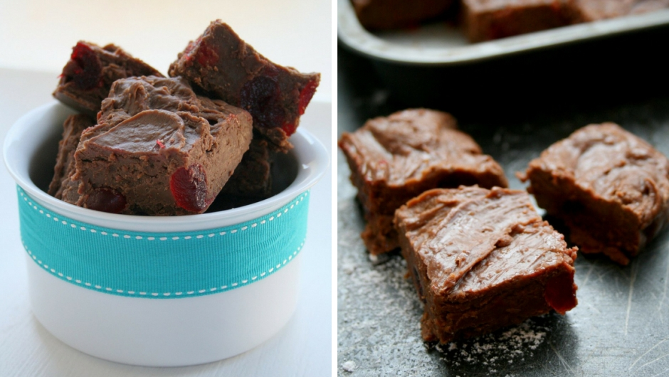 Easy chocolate fudge recipe.