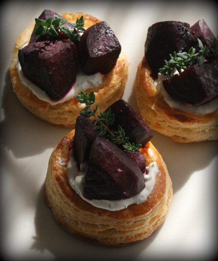 Beetroot tart recipe