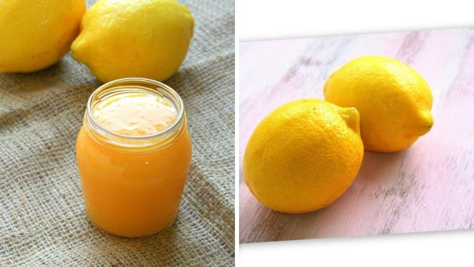 Home made lemon curd recipe