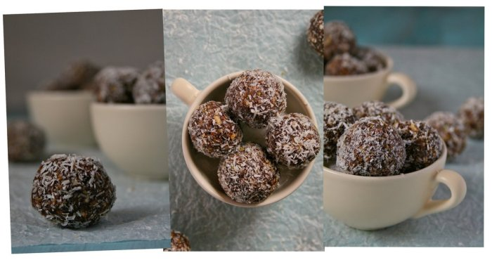 Delicious date ball recipe with video.