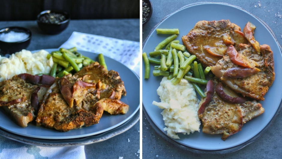 Easy pork chops recipe