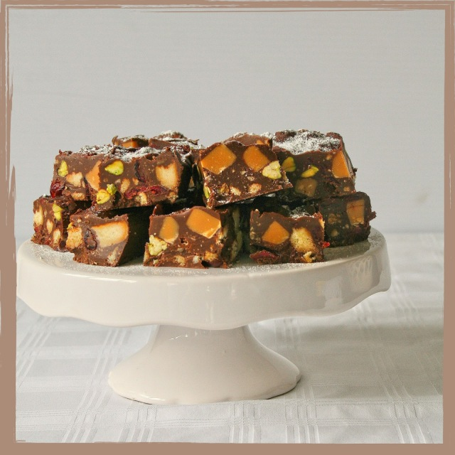 Christmas rocky road.