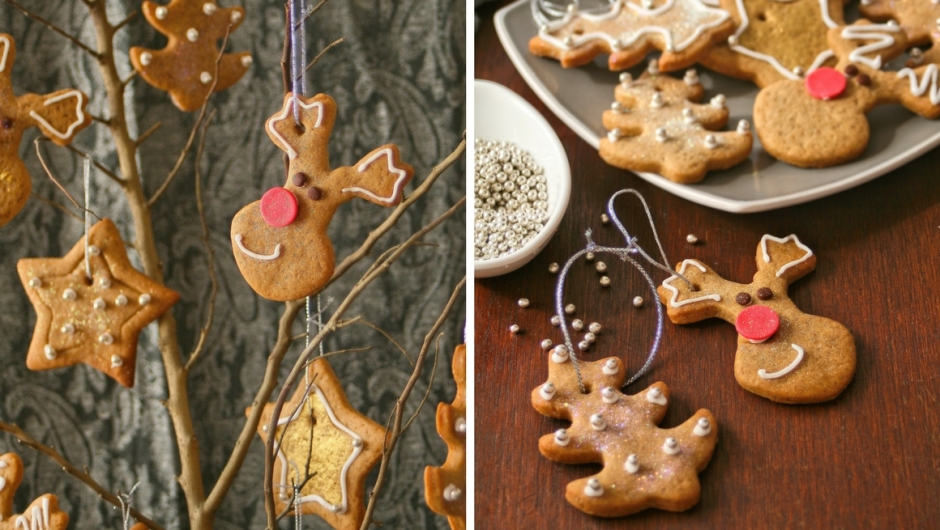 Spiced cookies for the Christmas tree