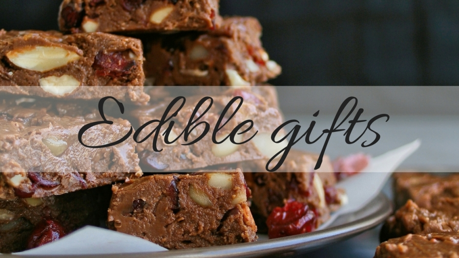 Ten edible gift ideas for Christmas
