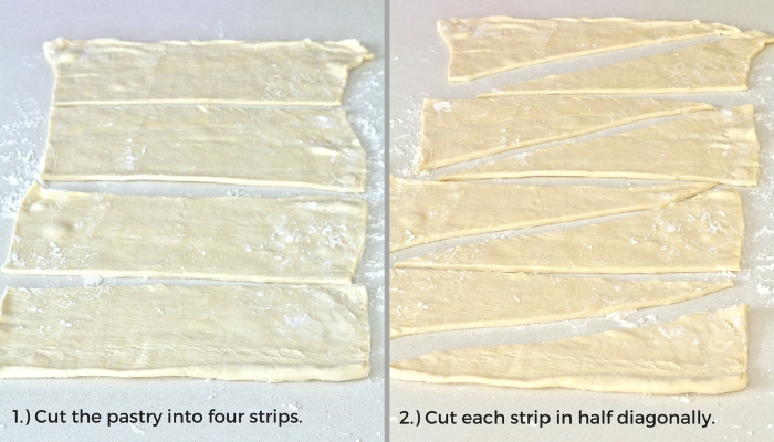 How to make your own croissants.