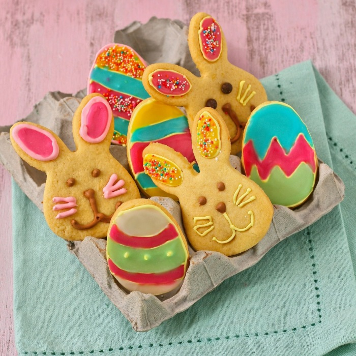 Bunny and Easter cookies.
