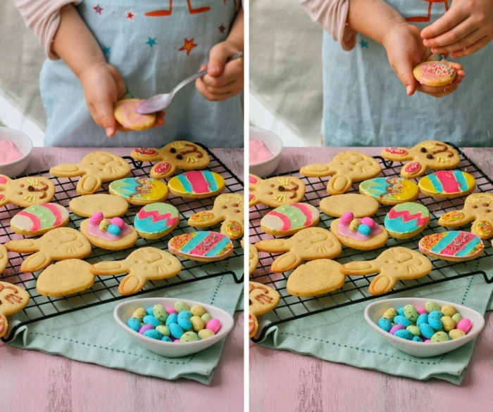 Cookie decorating for kids.