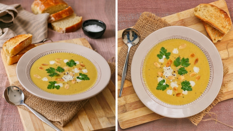 Easy butternut soup