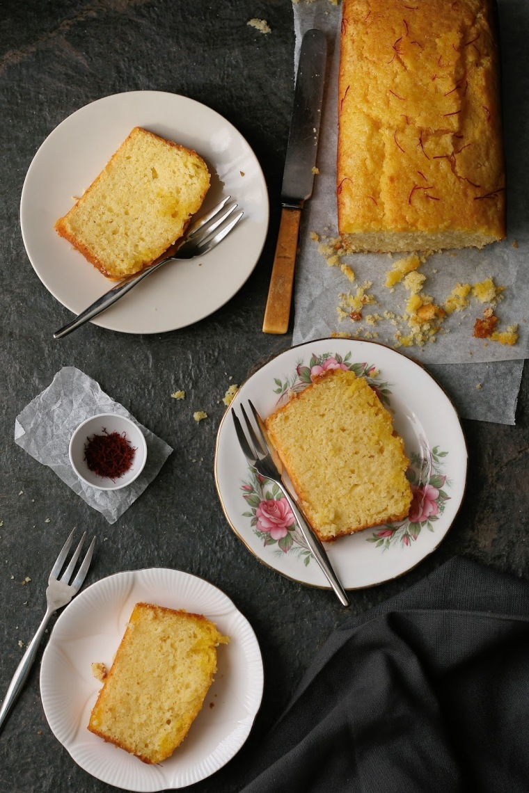 Lemon tea loaf recipe.