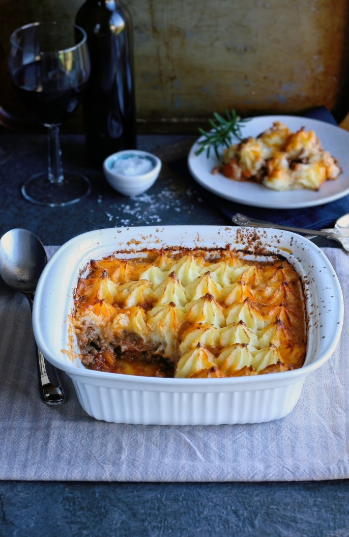 Classic shepherd's pie recipe.