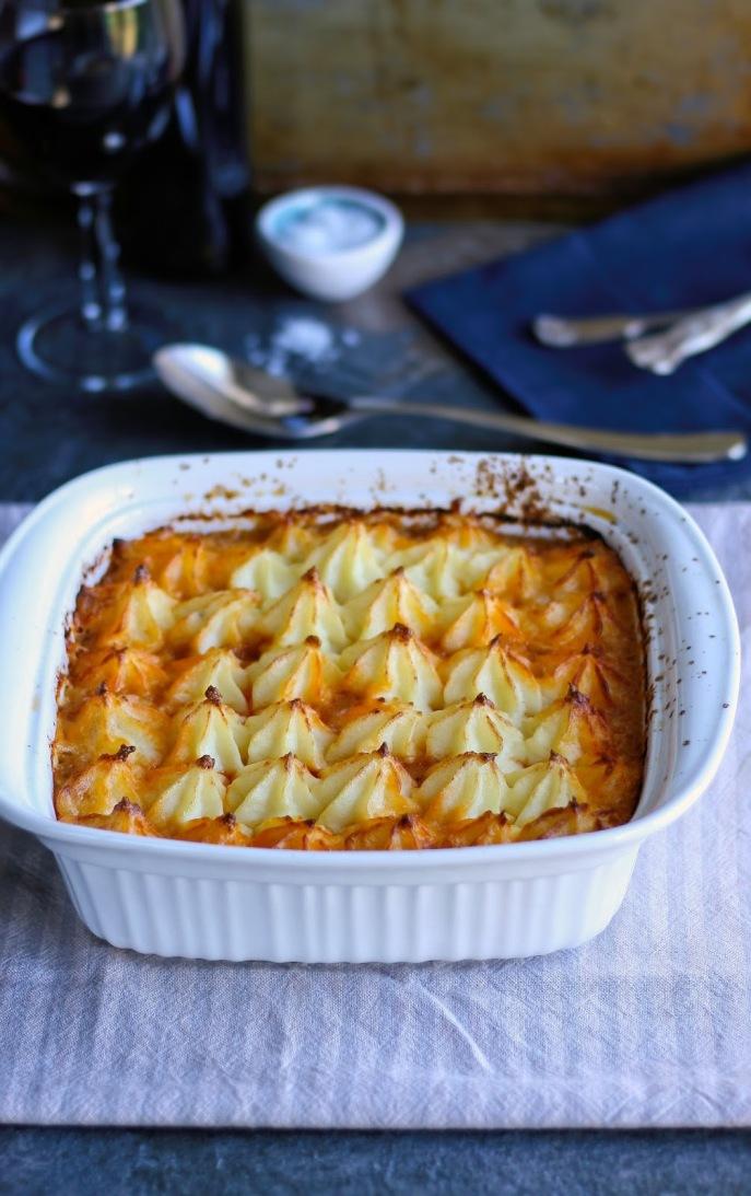 Winter shepherd's pie recipe.