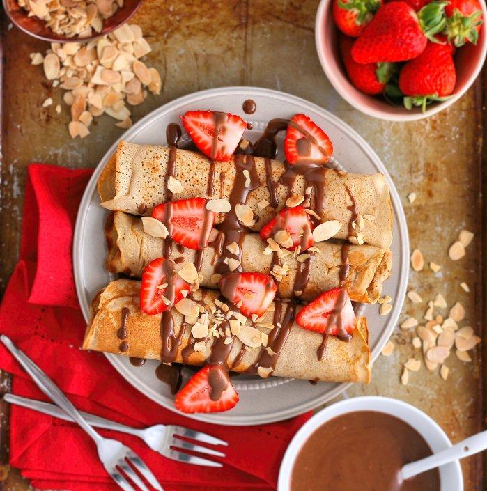 Sugar free pancake recipe.