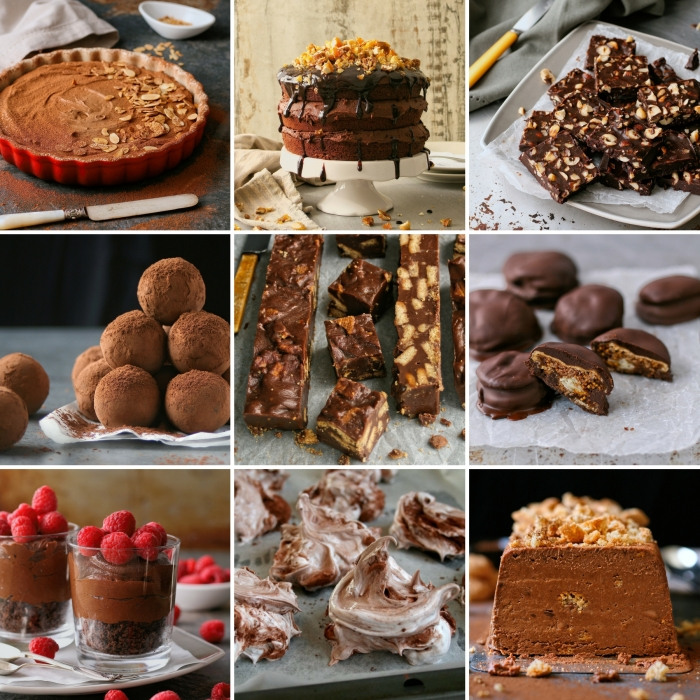 Top 15 chocolate recipes
