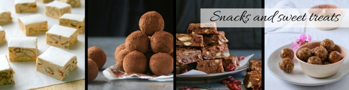 Snack and sweet treat recipes