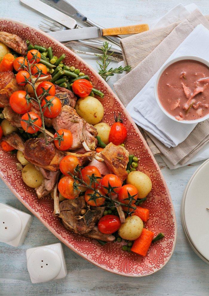 Quick lamb dish