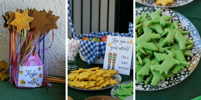 Wizard of Oz birthday party decor