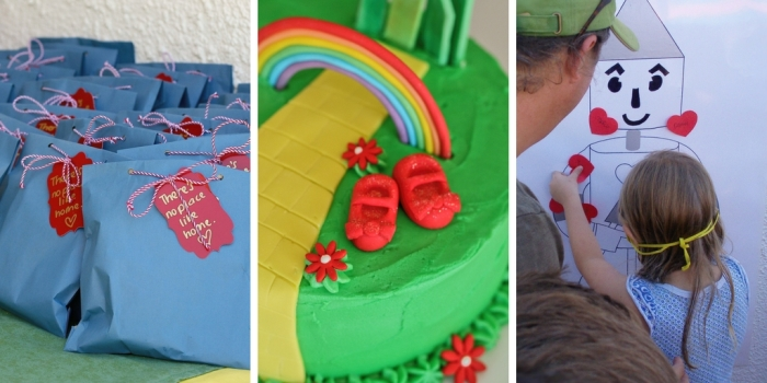 Wizard of Oz birthday cake ideas