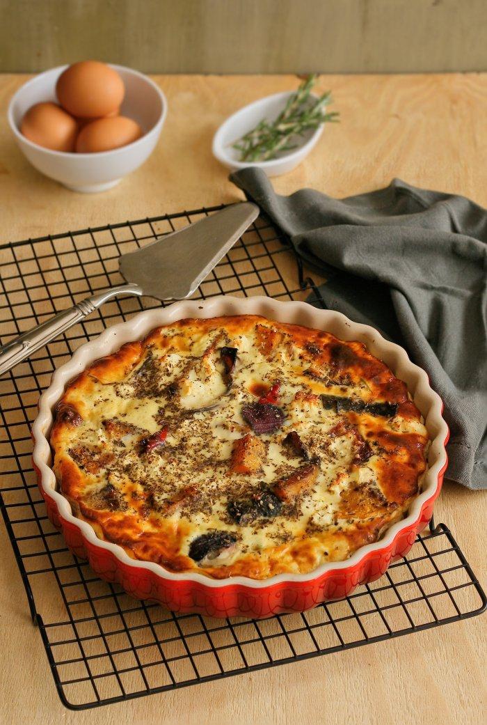 Easy crustless quiche recipe