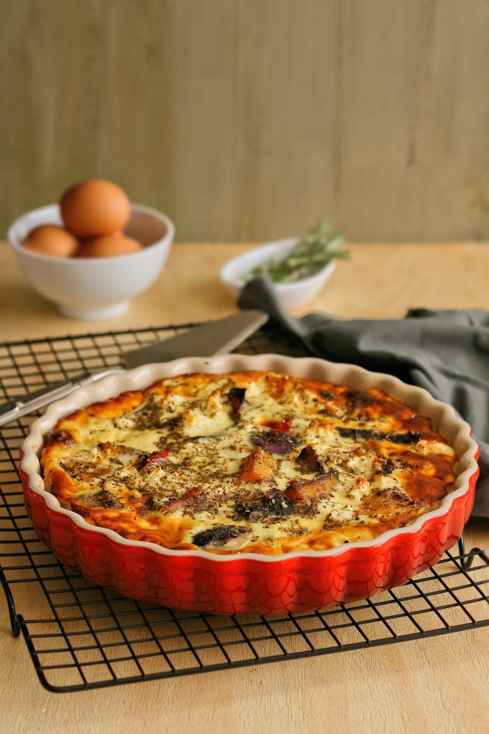 Easy crustless quiche recipe