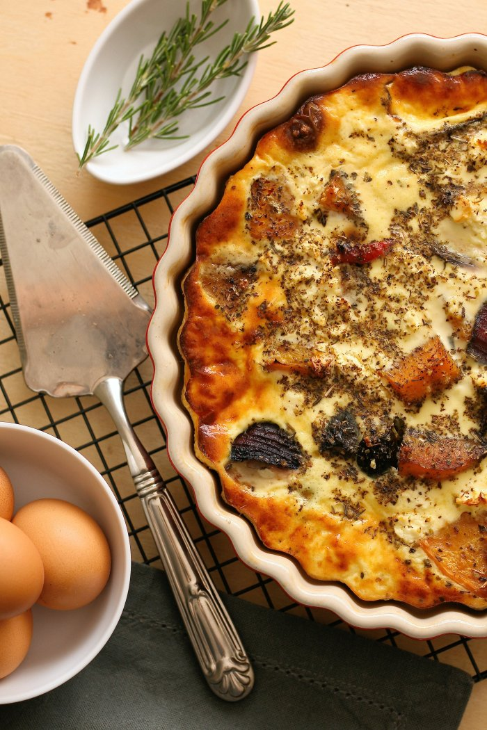 Crustless quiche recipe
