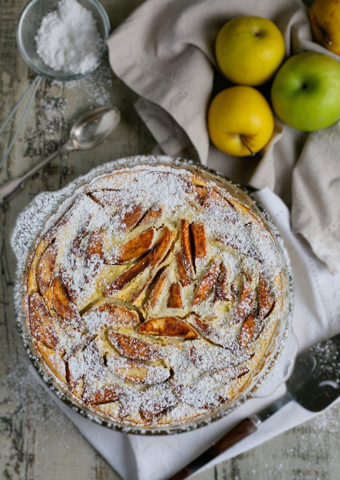 Easy apple and cinnamon clafoutis recipe