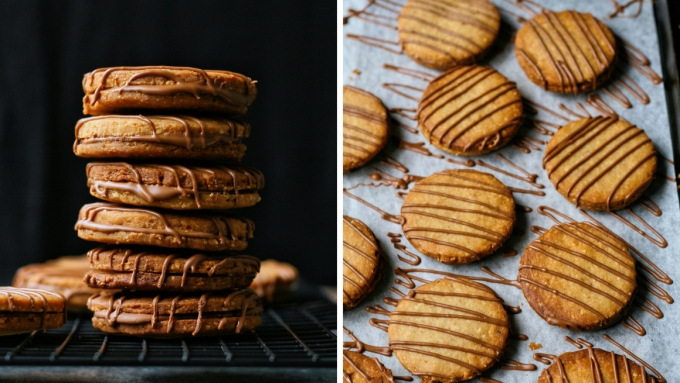 Peanut butter and chocolate cookie recipe