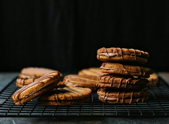 Peanut sandwich cookie recipe