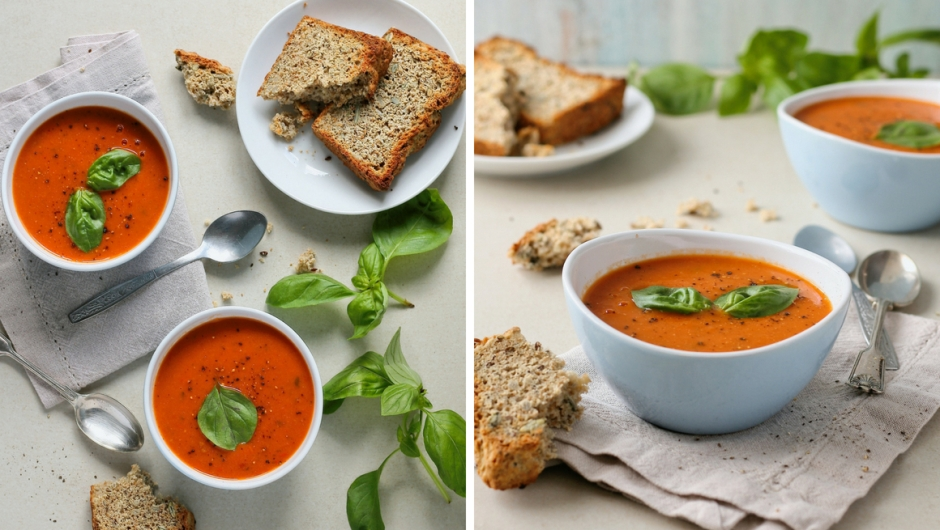 Easy vegan tomato soup recipe