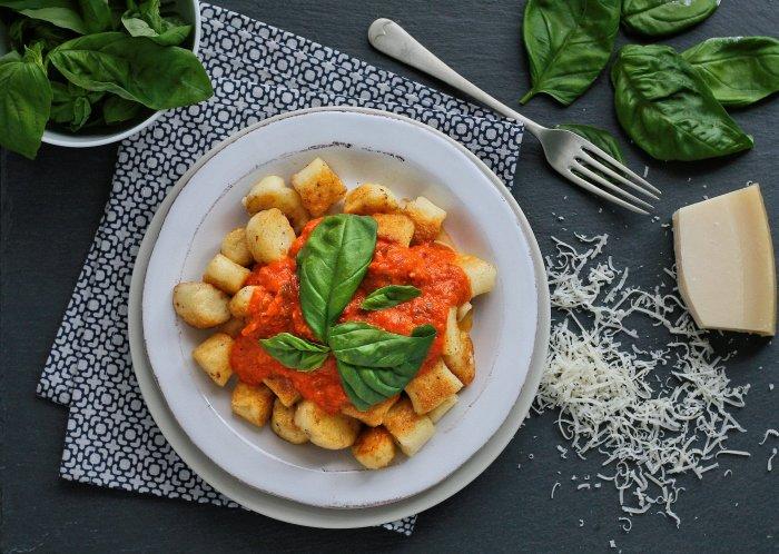 Parmesan gnocchi recipe with cornflour