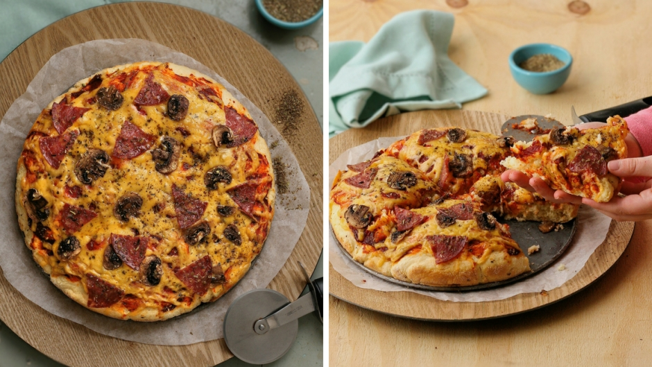 Scone dough pizza base recipe