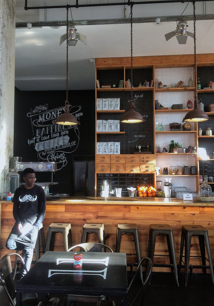 Mustacchios Caffe in Kloof Street