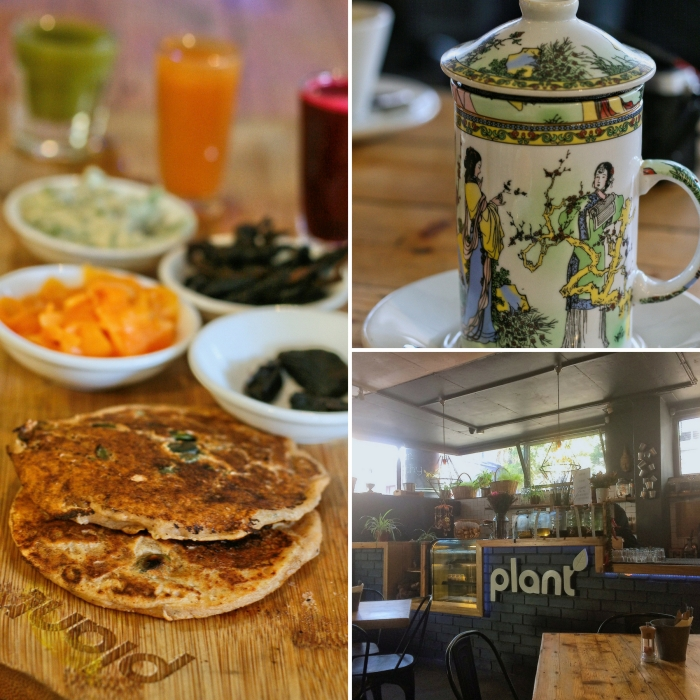 Vegan food at Plant in Cape Town