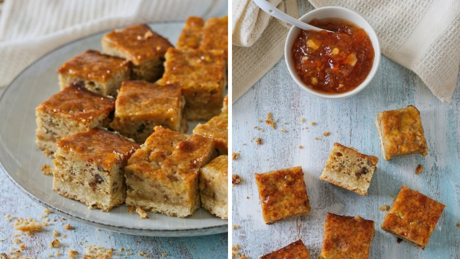 Easy recipe for marmalade squares
