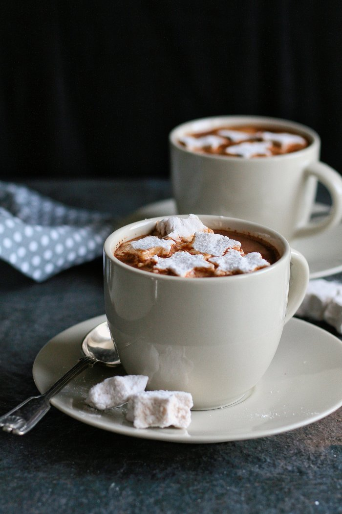 Decadent hot chocolate recipe with cinnamon