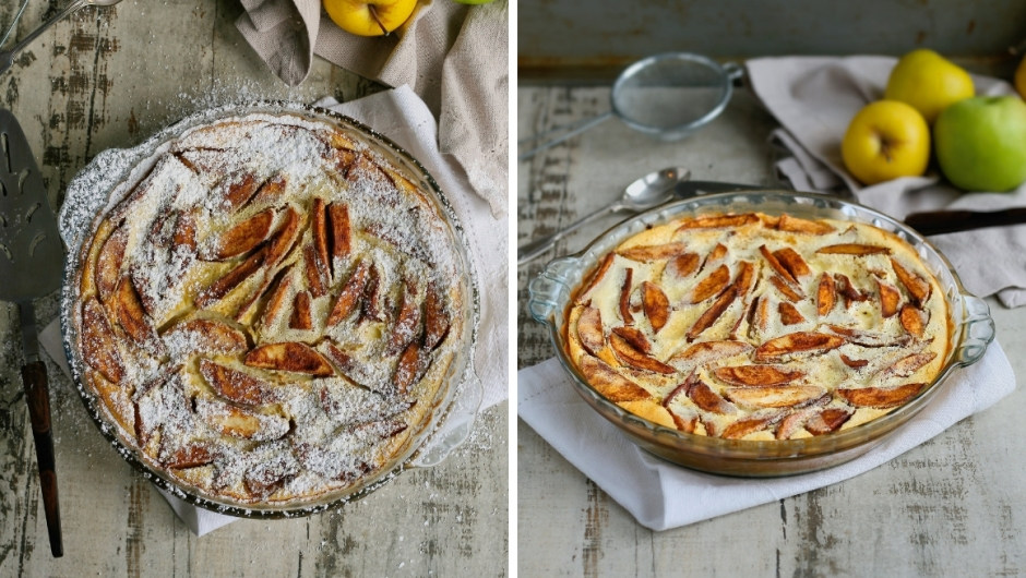 Easy apple clafoutis recipe
