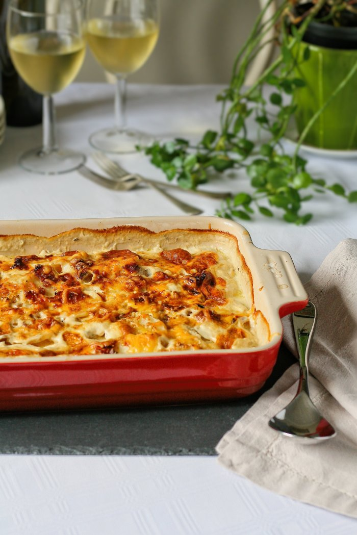 Creamy potato bake recipe.