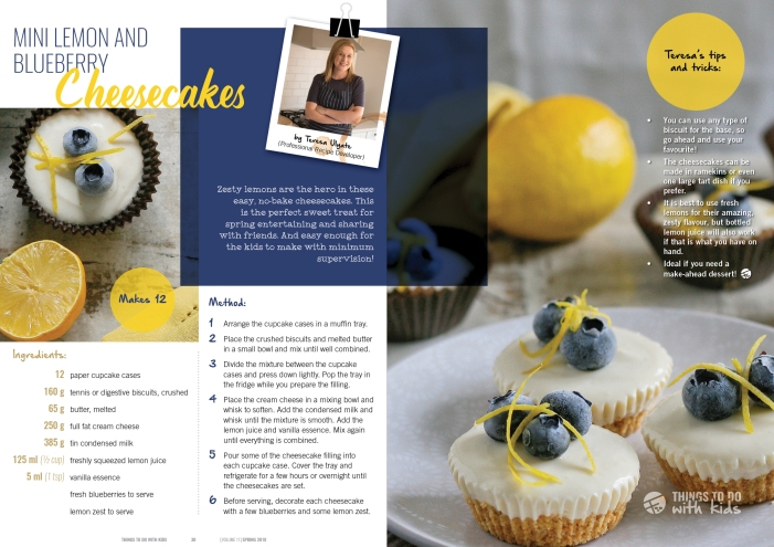 Teresa Ulyate magazine recipe feature