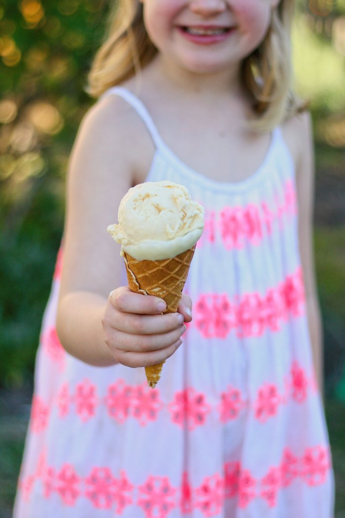 No churn ice cream recipe with cinnamon