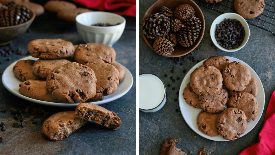 Chocolate chip cookie recipe with spices