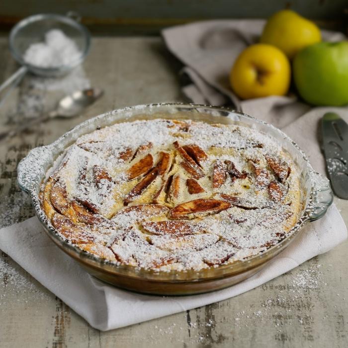 Easy apple clafoutis recipe
