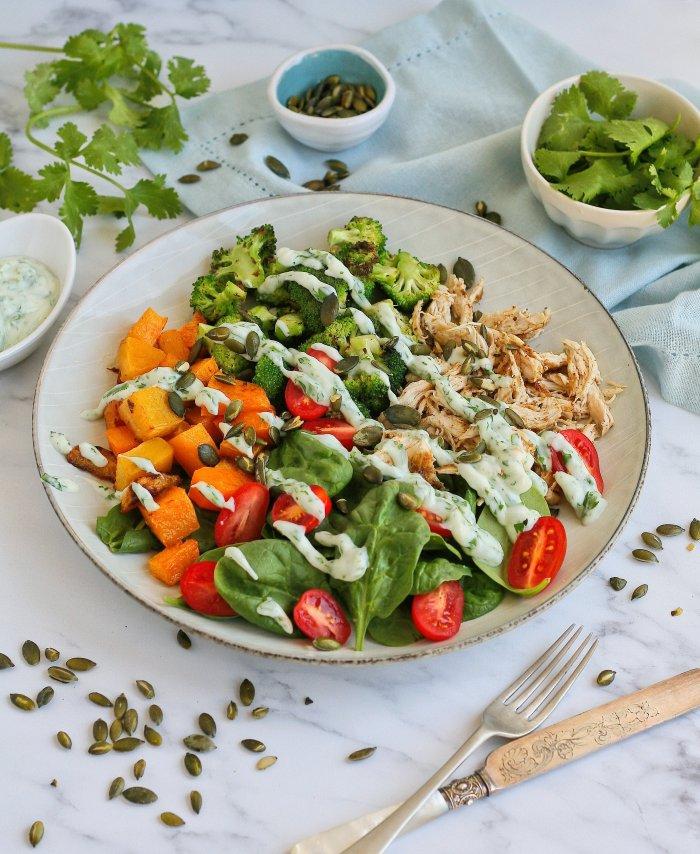 Chicken salad recipe with cumin