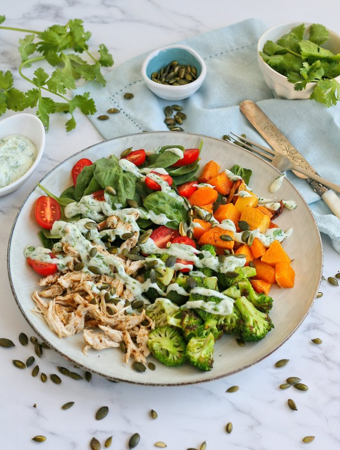Chicken salad recipe with cumin
