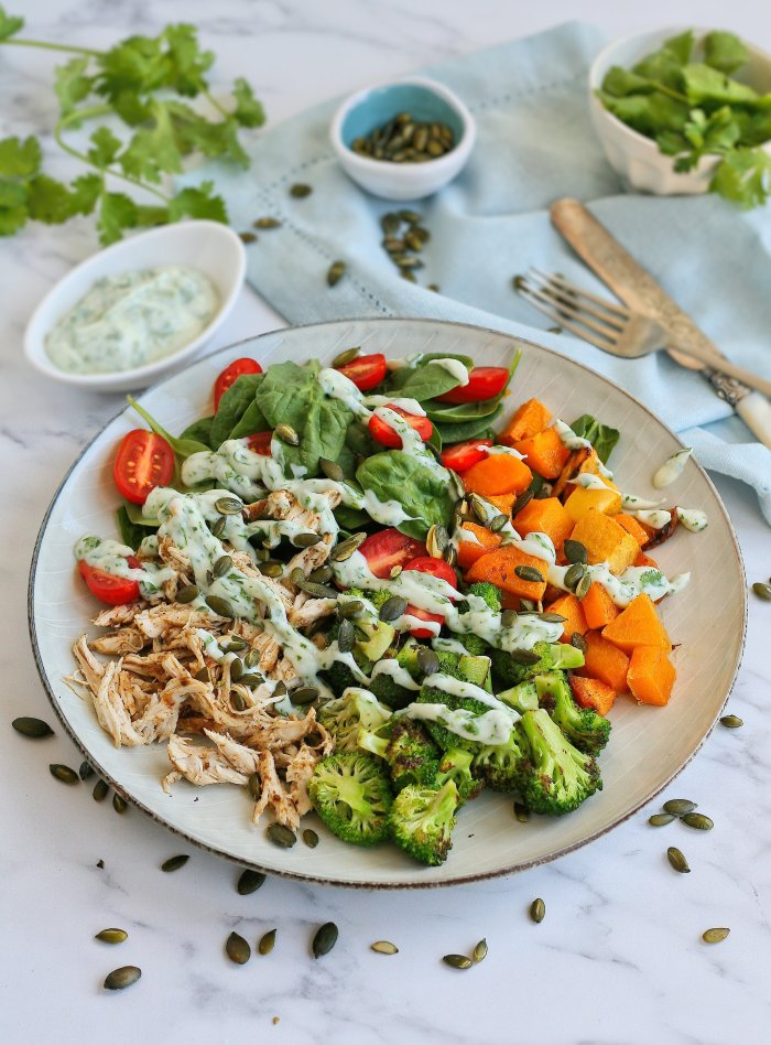 Easy shredded chicken salad recipe