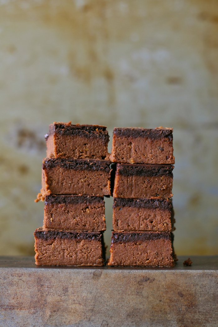 Refined sugar free chocolate fudge.