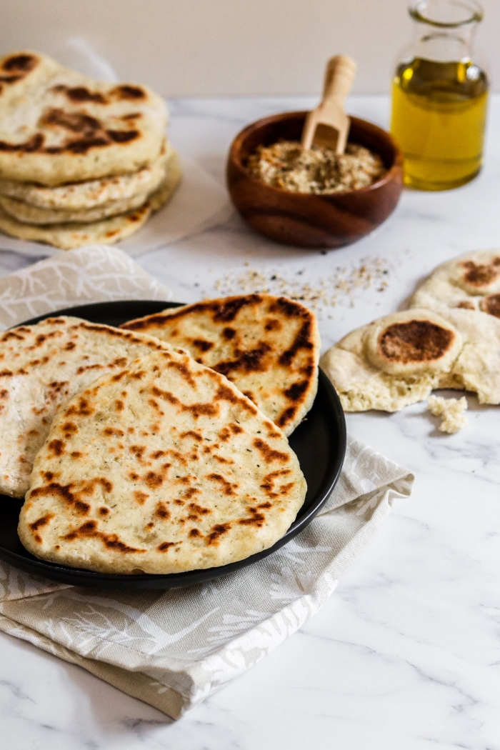 Easy yoghurt flatbreads