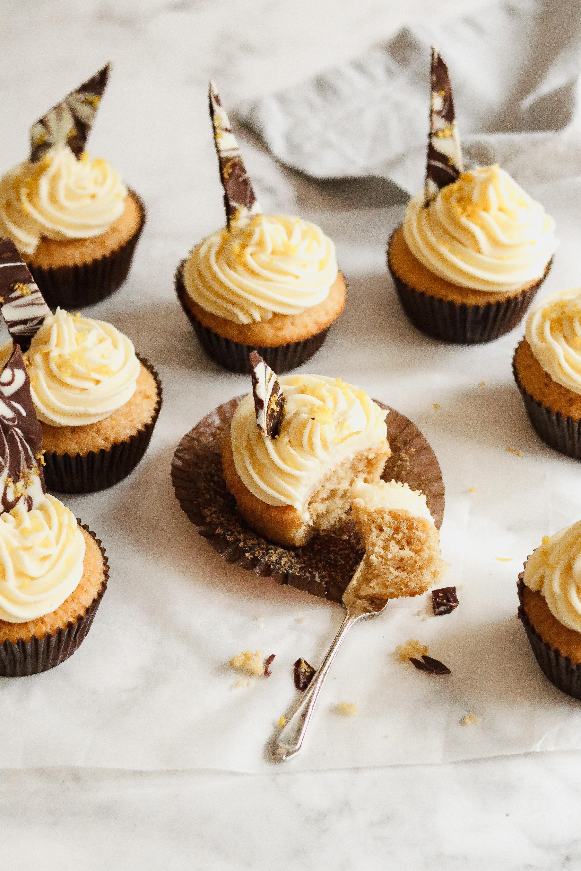 Rooibos and orange cupcake recipe